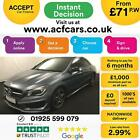 2013 BLUE MERCEDES CLA220 21 AMG SPORT DIESEL AUTO COUPE CAR FINANCE FR 71 PW