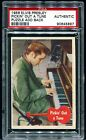 PSA Authentic 1956 Elvis Presley Topps Salesman Sample Pickin Out A Tune 1 1