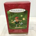 2001 Creative Cutter Elf Cookie Cut Hallmark Christmas Tree Ornament MIB Tag H5