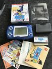 Wonderswan Clear Blue Console With 1 Boxed Game - Working Order