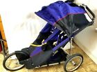 Kelty Kids Deuce Coupe Baby Caddy Double Seat Stroller, Cobalt/Black USED VG