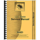 Tractor Service Manual with Fold Out illustrations For Case 2094 2294 3294
