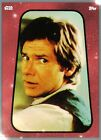 Topps Star Wars Card Trader Sticker Art Series 3 RED Han Solo