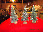 Lemax Christmas Village Accessories- 3 Snow Covered Trees - 6