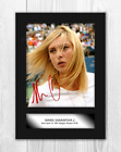 Maria Sharapova (2) A4 signed mounted photograph picture poster. Choice of frame