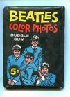 1964 O-PEE-CHEE OPC BEATLES Color Photo Wax Pack Unopened Sealed