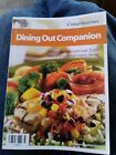 2005 WEIGHT WATCHERS DINING OUT COMPANION paperback book FOOD FREE SHIPPING