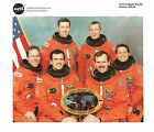STS 68 MISSION CREW NASA OFFICIAL RELEASED 8 X 10 PHOTO LITHO EX to NM