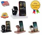 2 in 1 Charging Dock Stand Bracket Accessories Holder Fr iPhone 11 Xs Max iWatch