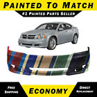 New Painted To Match Front Bumper Cover Replacement For 2011-2014 Dodge Avenger