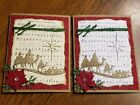 Christmas Card Kit Come To Bethlehem Nativity Jesus Handmade Cards Stampin Up