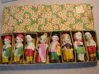 Vintage Porcelain ? Nodder and Figure Lot-International Children in box