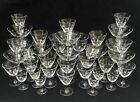 37 pcs Vintage Cut-Etched Atomic Starbursts ,Old fashion Rock Sharpe Crystal