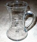 Etched Glass Pitcher. No Chips Or Cracks.