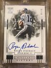 2018 Impeccable Roger Staubach On Card Autograph! 06 10 Beautiful!