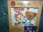 Boyds Bears & Friends 6 pc MUSICAL WALL ART PRESS N PLAY BABY TODDLER ROOM DECOR