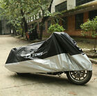 Universal XXXL Waterproof Motorcycle Cover For Harley Touring Street Road Glide
