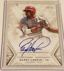 2018 Topps Diamond Icons Barry Larkin On Card Auto 18 25