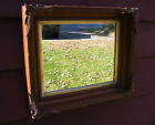 Antique Vintage Walnut Shadow Box Frame  11.5 x 14