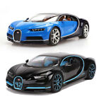 Bugatti Chiron Supercar 124 Scale Collectible Car Model Diecast Gift Vehicle
