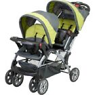 Double Baby Stroller Twin Two Kid Infant Toddle Folding Safe Easy Fold Car Child