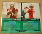 AARON RODGERS ALEX SMITH 2005 UD SIGNATURE PORTRAITS 8X10 AUTO PACKERS SP 43 45