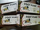 Lot of 4 Car Ball Rafts Toys Basic Foot Pump Inflates Up to 100 Psi