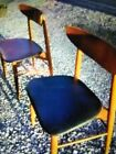 antique Danish side chairs from the 60s in great condition. This is by Moller