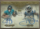 2012 Topps Five Star Dual Rookie Autographs Brian Quick Justin Blackmon 16 20