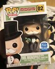 Funko Shop POP! Board Games #02 Mr. Monopoly with Money Bag Exclusive
