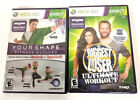 Lot Of 2 Brand New Sealed Xbox 360 Kinect Fitness Games Your Shape Biggest Loser