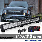 25inch Led Light Bar Spot Flood Work FIT Offroad Driving SUV Truck JEEP 4WD 24