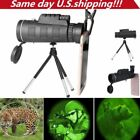 40X60 Zoom Monocular Telescope Scope for Smartphone Camera with Compass Tripods