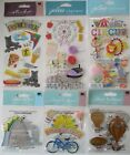 Jolees Boutique Scrapbooking Stickers Lot BOARD WALK Carnival Rides Circus