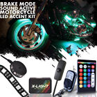 12pc Remote LED Motorcycle Light Kit Suzuki Boulevard M109R M90 w Brake Function