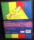 AmPad PRIMARY COLORS CARDSTOCK 85 X 11 50 sheets