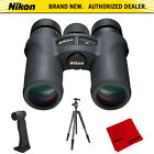 Nikon Monarch 7 10x30 Water Fog Proof Binoculars + Aluminum Travel Tripod Bundle
