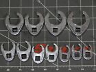 Pick A Set Snap On Flare Nut Crowfoot 7pc Sae 38 34 1 11pc Metric 9mm 19mm