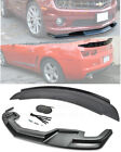 For 10 13 Camaro SS  ZL1 Package Style Front Lip Splitter  Rear Truck Spoiler