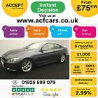 2015 GREY BMW 420D 20 190 M SPORT DIESEL AUTO 2DR COUPE CAR FINANCE FR 75 PW