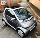 2002 SMART PASSION CABRIO ONLY 68000 MILES AUGUST 2019 MOT