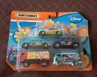 NEW Matchbox Disney 5 Pack Diecast Cars Pooh Stitch Dumbo Peter Pan Jungle Book