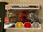Funko Pop The Flash Chrome 3 Pack 2018 SDCC Shared Summer Exclusive DC Heroes