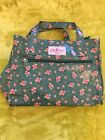 Cath Kidston bag pvc canvas style handles and zip