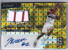 2016-17 Spectra JOHN WALL Auto Signature GOLD MOSAIC Jersey SSP #8 10 Locked In