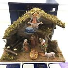 Fontanini Village Stable Nativity Scene Heirloom 5 Scale 54491 Made in Italy
