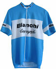 BIANCHI Cycling Jersey Retro Road Pro Clothing MTB Short Sleeve Bike