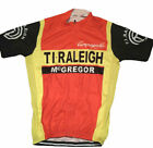 1982 RALEIGH Cycling Jersey Retro Road Pro Clothing MTB Short Sleeve
