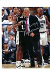 GREGG POPOVICH AUTOGRAPHED 8X10 PHOTO SIGNED BECKETT BAS COA SAN ANTONIO SPURS 2