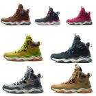 Waterproof Mid Top Outdoor Hiking Shoes Sneakers Men Leather Trail Hiking Boots